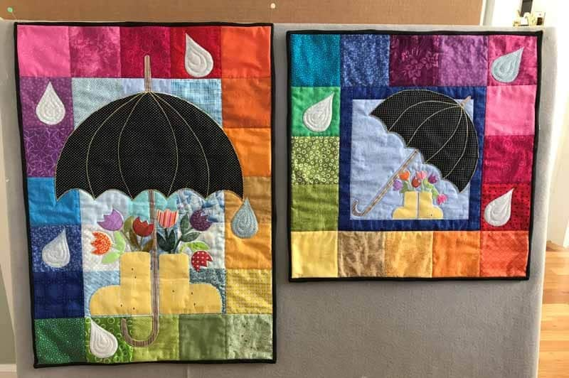 Liz-Dragone-April-Calendars-quilted-and-bound